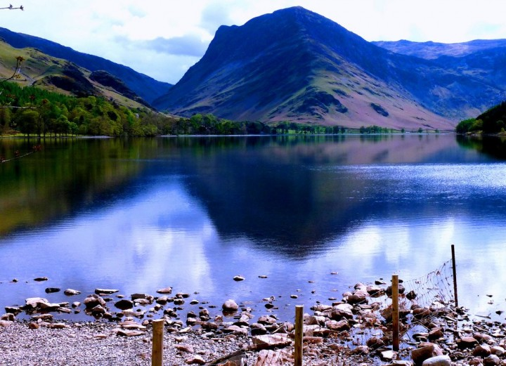 Buttermere lake,  Lake District National Park, England, National Parks in the UK