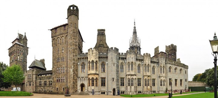 Cardiff Castle, Castles in Wales, Visit Wales, UK