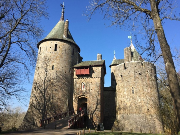 Castell Coch, Castles in Wales, Visit Wales, UK