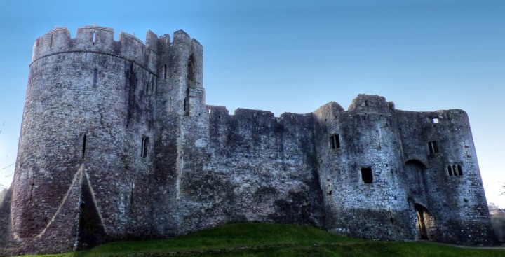 Chepstow Castle, Castles in Wales, Visit Wales, UK
