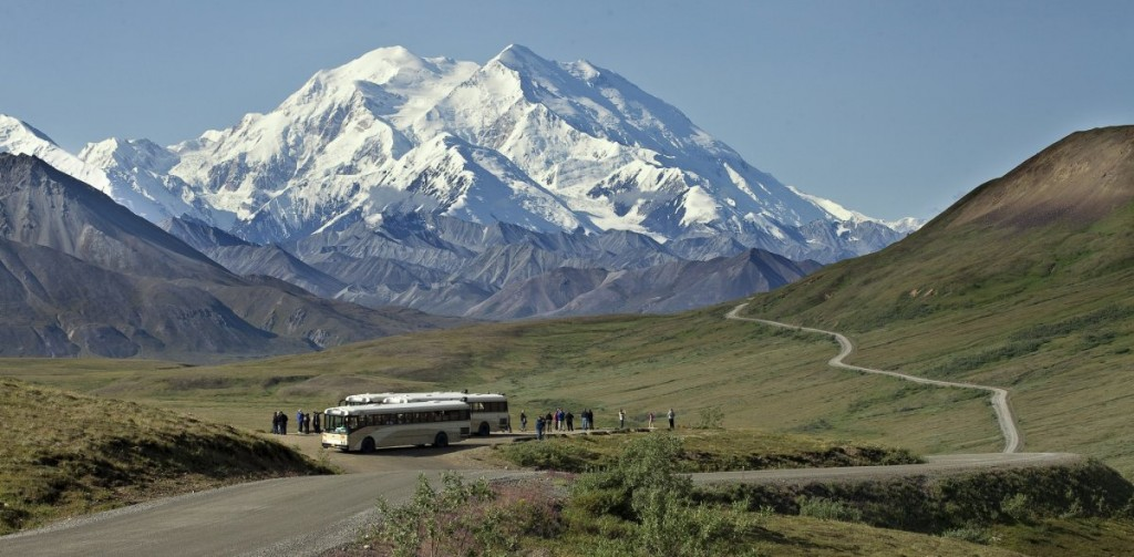 Mount McKinley, Denali National Park And Preserve, US National Parks