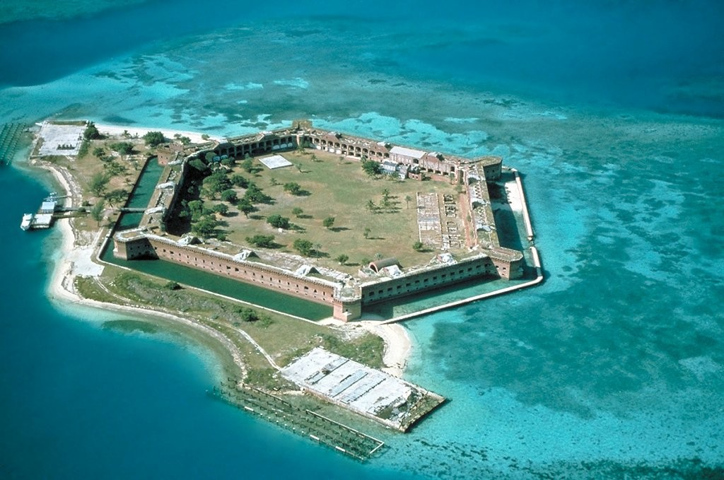 Fort Jefferson, Dry Tortugas National Park, US National Parks