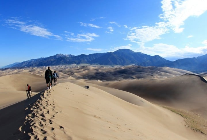 Great Sand Dunes National Park and Preserve, US National Parks