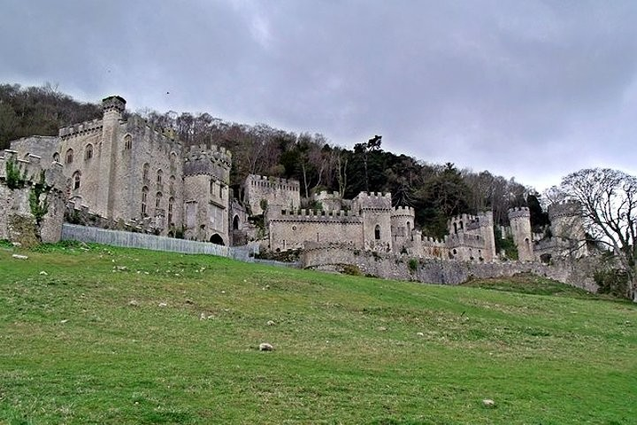 Gwrych Castle, Castles in Wales, Visit Wales, UK