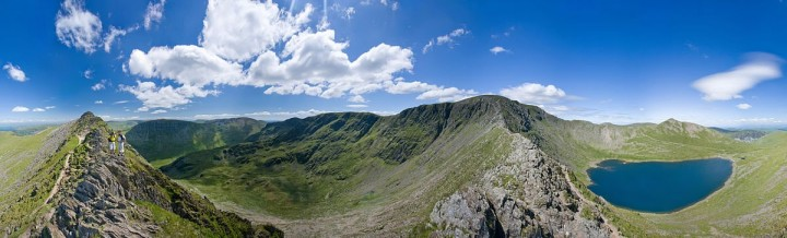 Helvellyn, Lake District National Park, England, National Parks in the UK