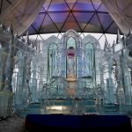 Ice church in the High Tatras 2016, Slovakia - 2