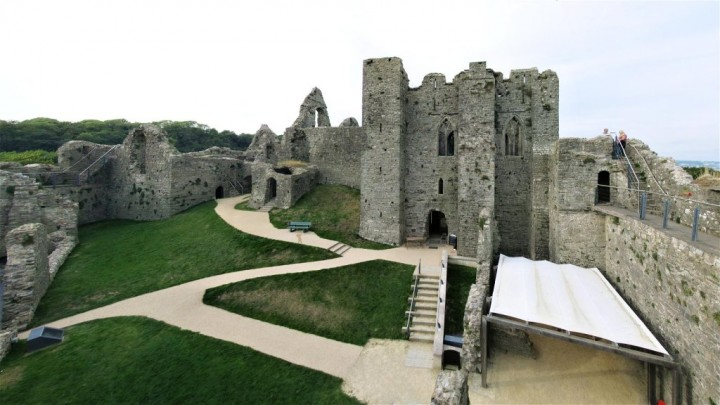 Oystermouth Castle, Castles in Wales, Visit Wales, UK