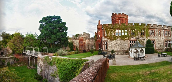 Ruthin Castle, Castles in Wales, Visit Wales, UK