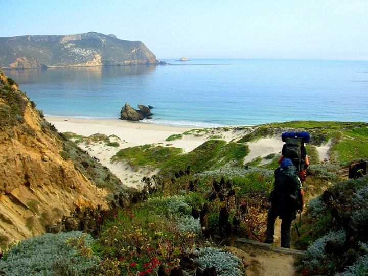 San Miguel island, Channel Islands National Park, US National Parks