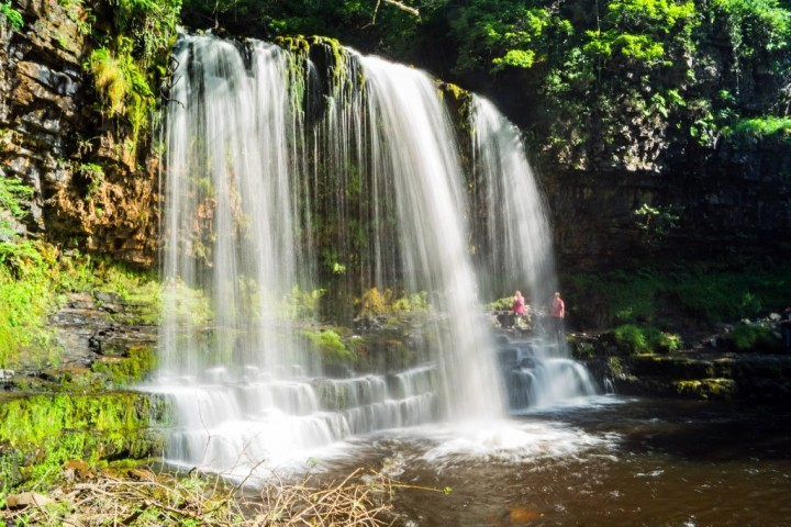 Sgwd yr Eira, Brecon Beacons National Park, Wales, UK