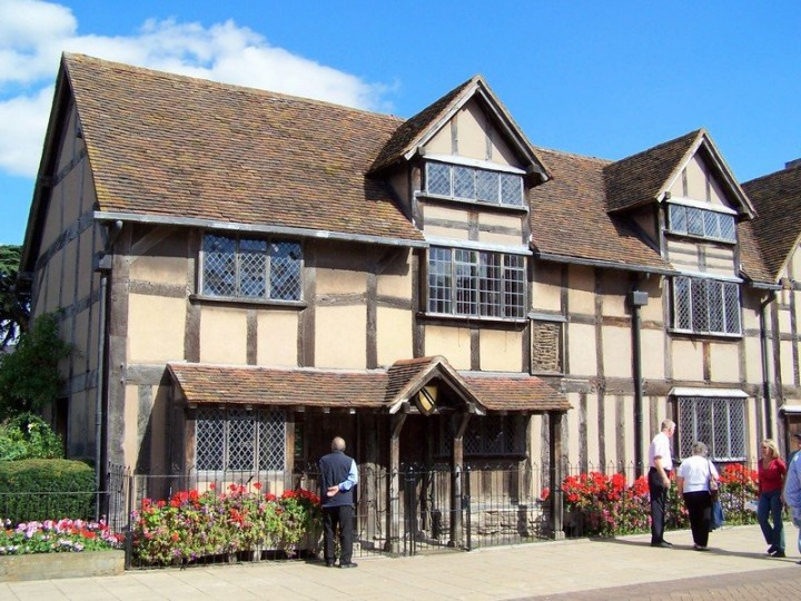 Shakespeare's birthplace in Stratford-upon-Avon, England, UK - Day Trips from London