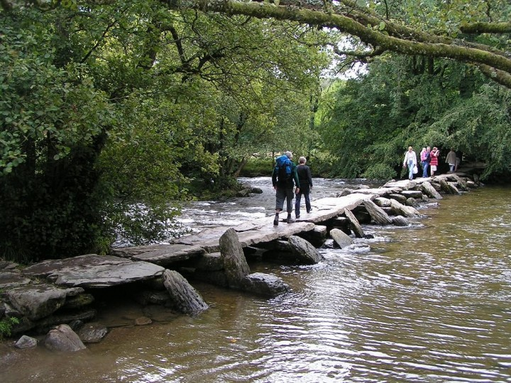 Tarr Steps, Exmoor National Park, England, National Parks in the UK