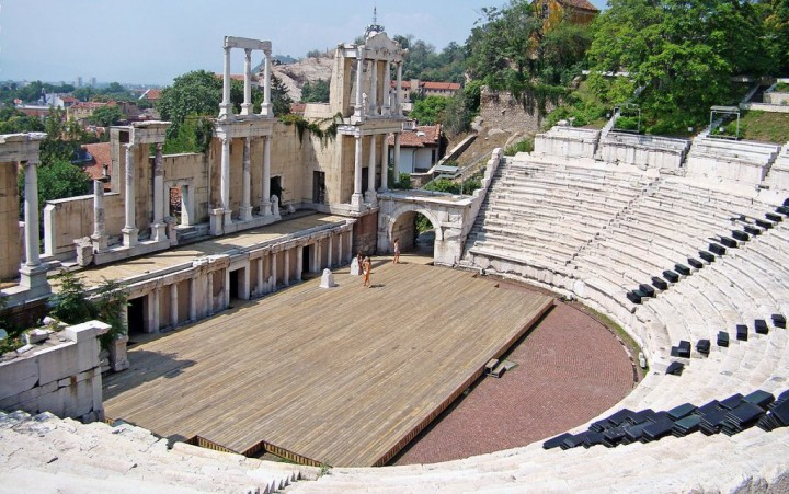 The Ancient Theater of Plovdiv, Bulgaria Holidays - Places to visit in Bulgaria