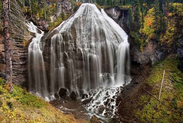 Union Falls, Yellowstone National Park, USA