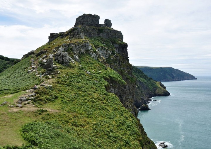 Valley of Rocks near Lynton in Exmoor National Park, Devon, England, National Parks in the UK