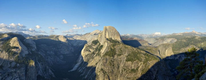 Glacier Point view, Yosemite National Park, California, USA