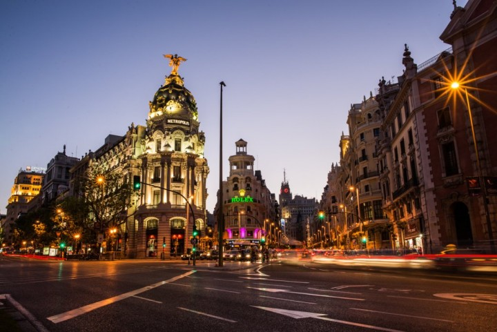 Gran Via, Things to do in Madrid, Spain