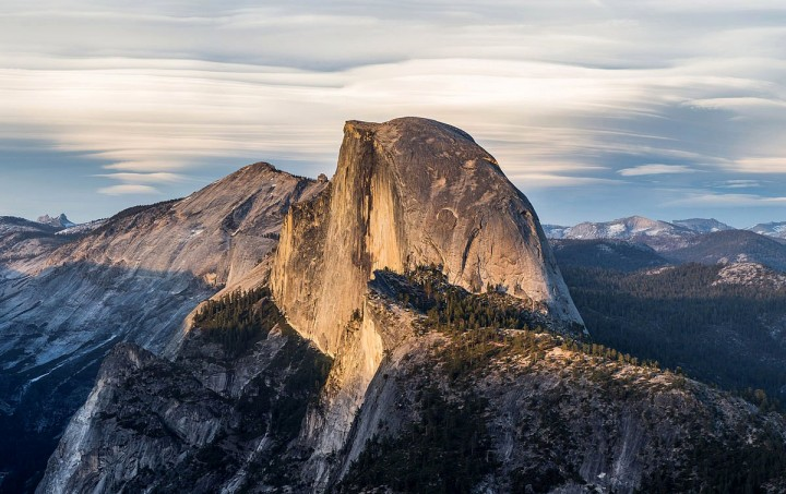 Half Dome as seen from Glacier Point, Yosemite National Park, California, United States