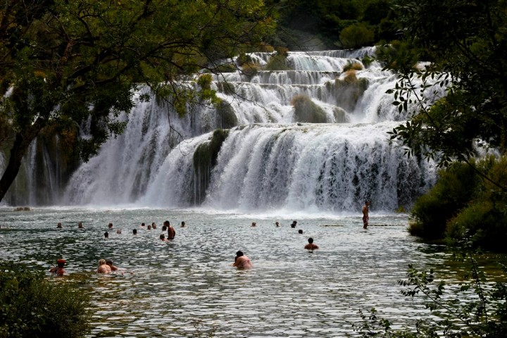 Krka Waterfalls, Krka National Park, Croatia