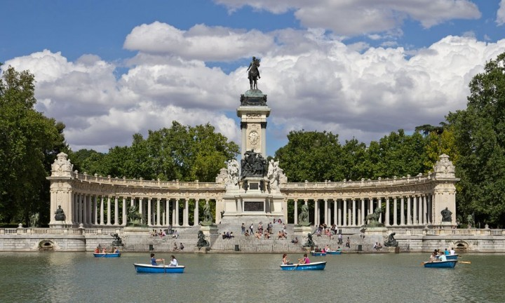 Retiro Park, Things to do in Madrid, Spain