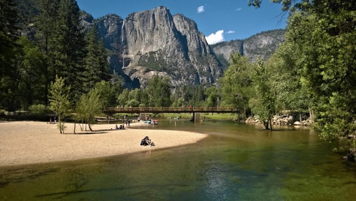 Sentinel beach, Yosemite National Park, California, USA