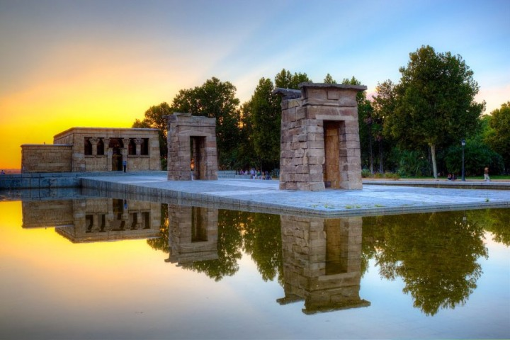 Temple of Debod, Things to do in Madrid, Spain