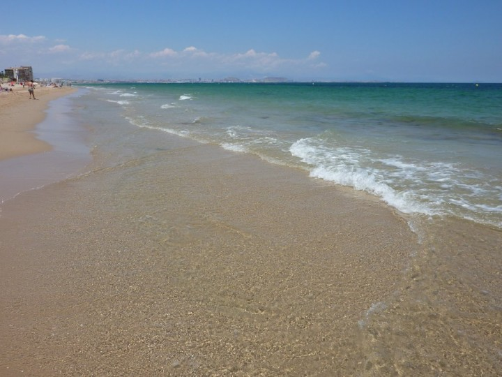 Crystal clear water at Santa Pola, Sandy beach at Santa Pola, Luxury Spain Holidays