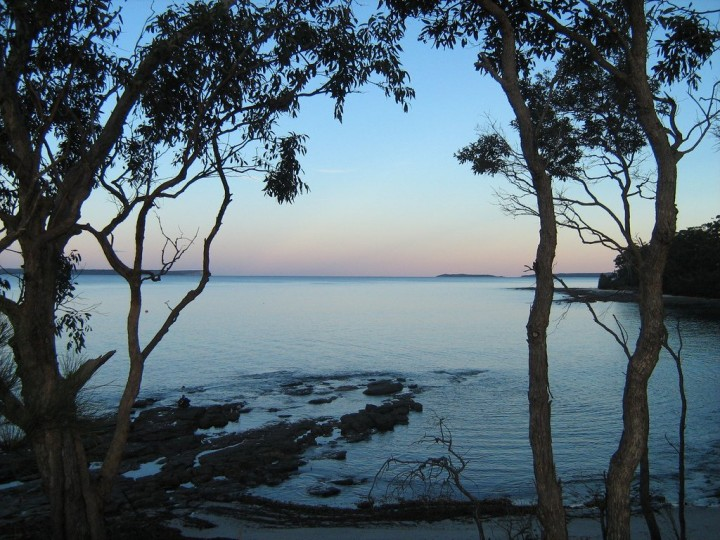 Jervis Bay from Huskisson, New South Wales, Australia