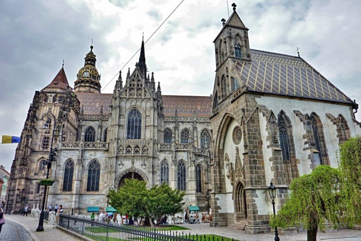 St Elisabeth Cathedral and St Michael Chapel, Kosice, Slovakia
