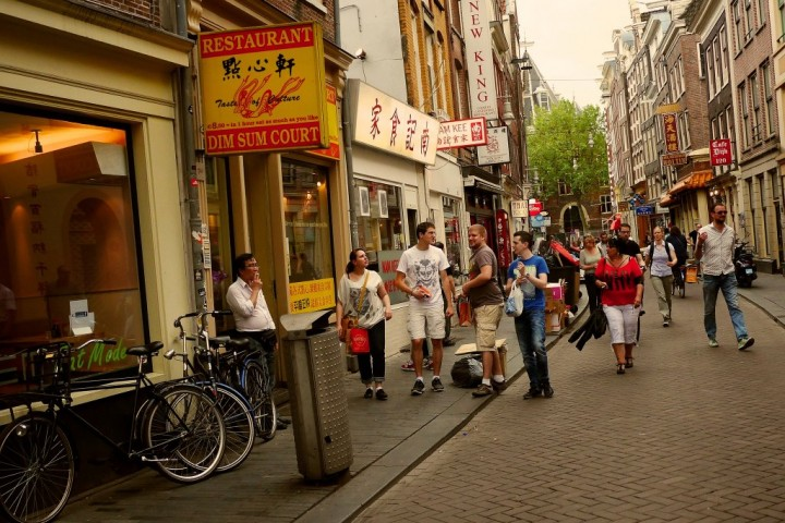 Chinatown in Amsterdam, Unique tours in Amsterdam