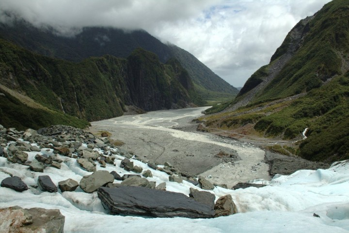 Fox Glacier, West Coast, New Zealand