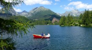 Strbske pleso lake, High Tatras National Park, Slovakia
