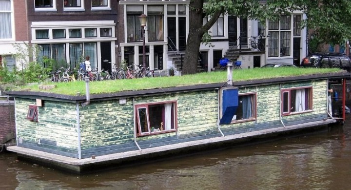 Houseboat in Amsterdam, Unique tours in Amsterdam