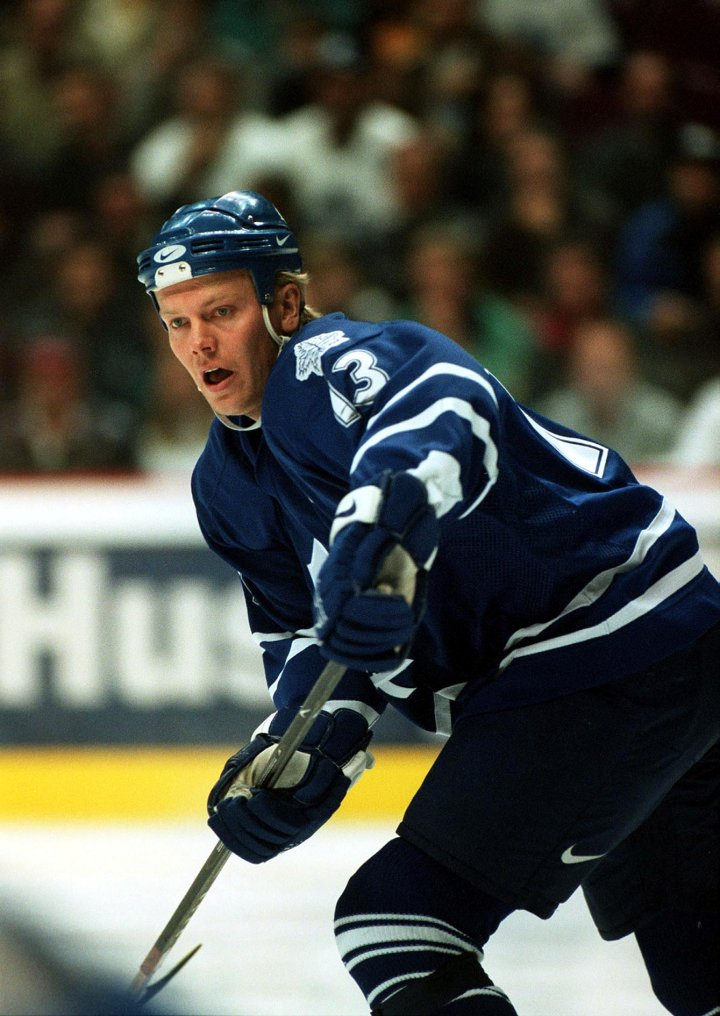 Mats Sundin is the Maple Leafs all-time leader in goals and points