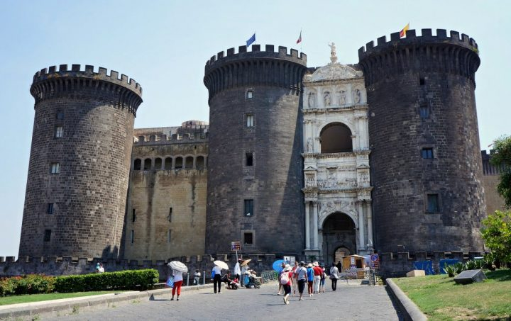 Castel Nuovo, weekend in Naples, Italy