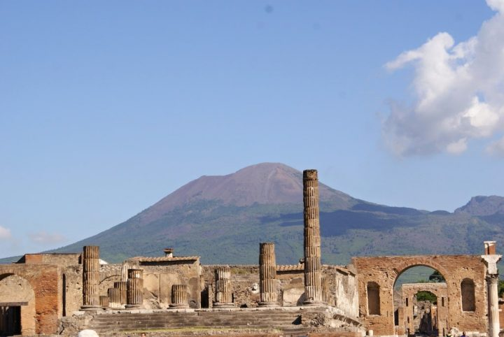 Pompei, weekend in Naples, Italy