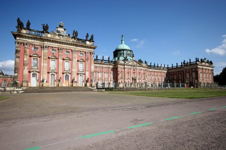 Sanssouci palace, Potsdam, Traveling to Germany