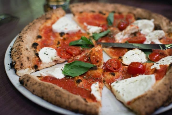 Margherita pizza, weekend in Naples, Italy