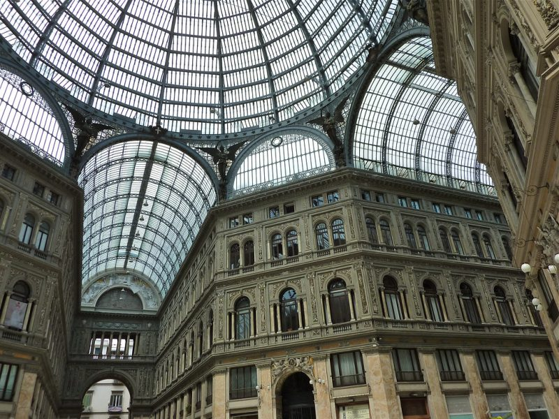 Visit the Umberto I Gallery, Naples
