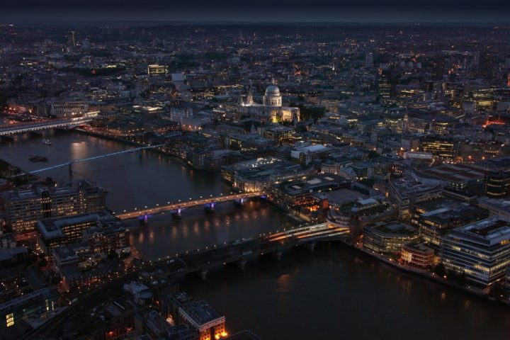 London as seen from The Shard, Best Views In London, England, UK