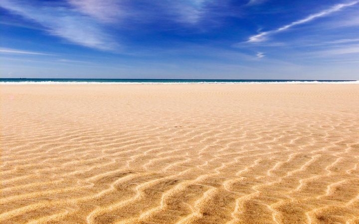 Playa Sotavento, Fuerteventura, Canary Islands, Spain