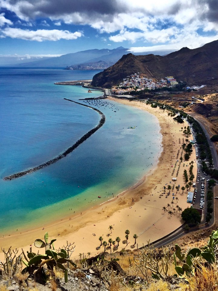 Playa de Las Teresitas, Tenerife, Canary Islands, Spain