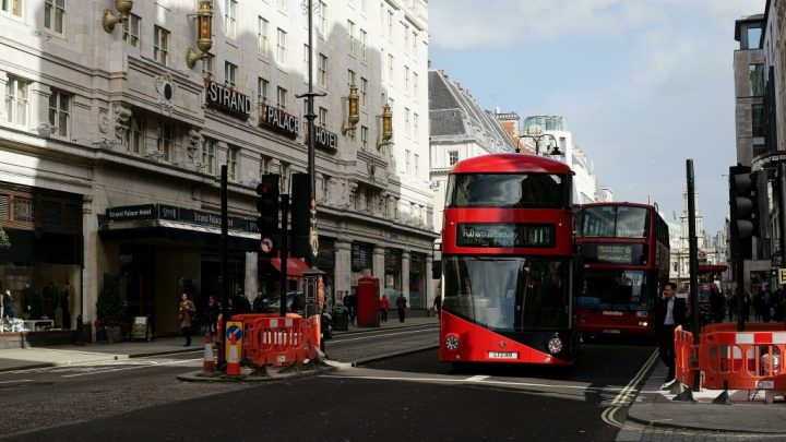 Route 11 Bus, Best Views In London, England, UK