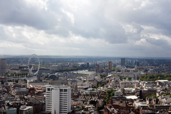 The view from Paramount, Best Views In London, England, UK
