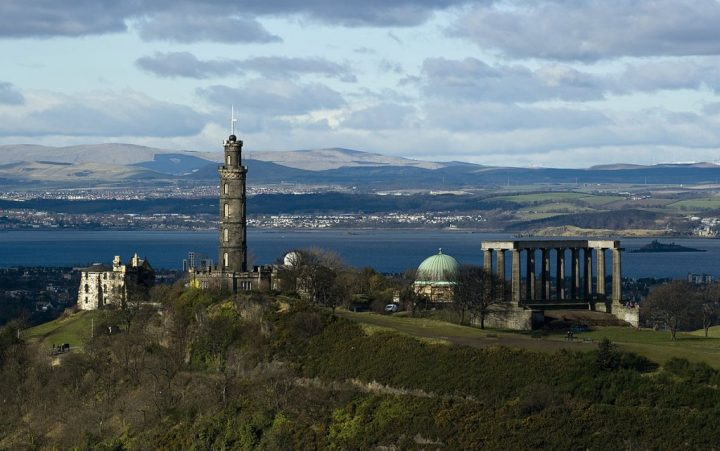 Nelson Monument, Things to do in Edinburgh, Scotland, UK