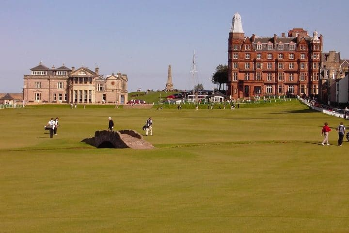 Royal and Ancient Golf Clubhouse, Things to do in Edinburgh, Scotland, UK