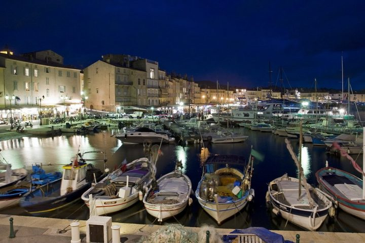 Saint-Tropez night, French Riviera