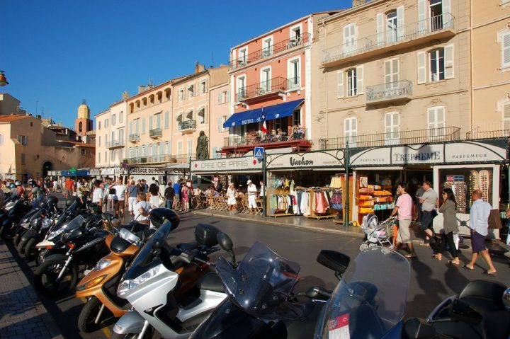 Shops in Saint-Tropez, French Riviera