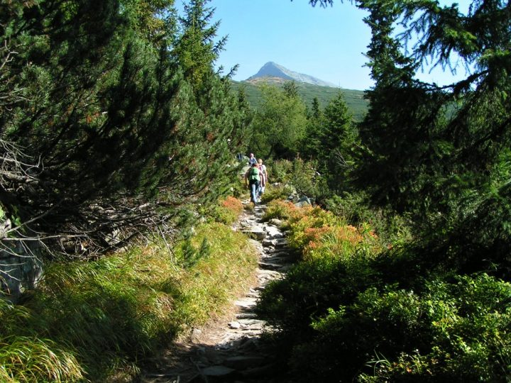 Tour to Kriváň, High Tatras mountains, Slovakia 1