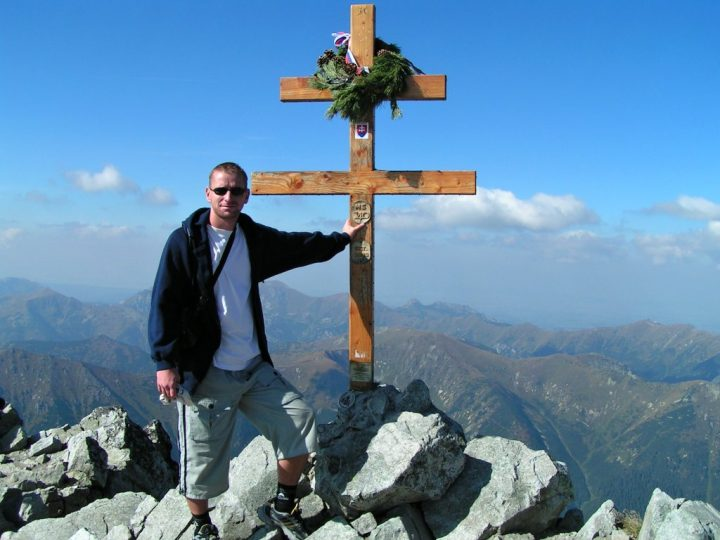 Tour to Kriváň - atop the peak, High Tatras mountains, Slovakia